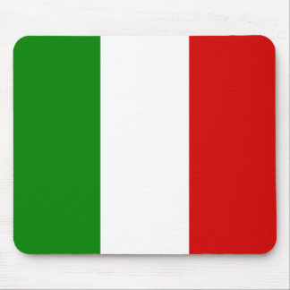 The Flag of Italy Mouse Pad