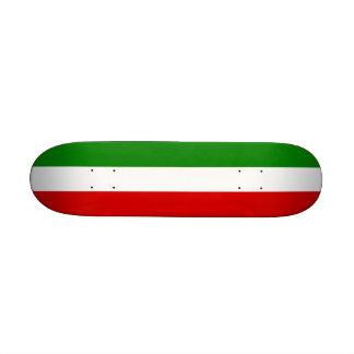 The Flag of Italy Skateboard Deck
