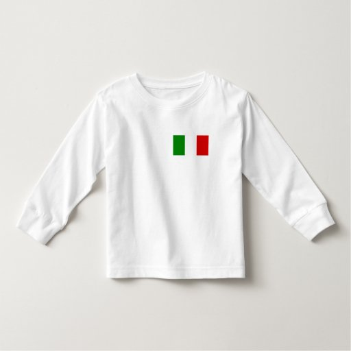 The Flag of Italy Tshirts