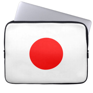 The Flag of Japan Laptop Computer Sleeve