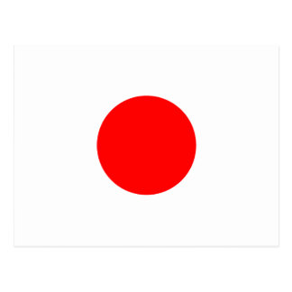 The Flag of Japan Postcard