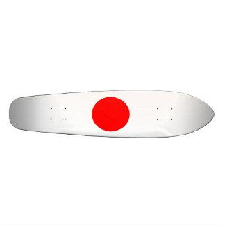 The Flag of Japan Custom Skateboard
