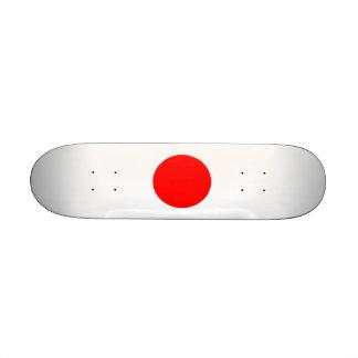 The Flag of Japan Skate Board