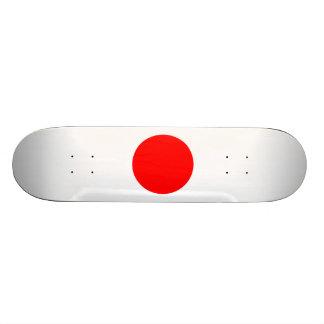 The Flag of Japan Skateboard