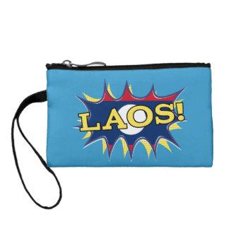 The flag of Laos Coin Purse