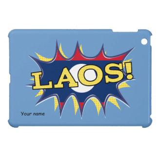 The flag of Laos iPad Mini Cover