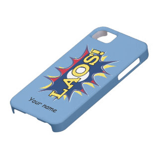 The flag of Laos iPhone SE/5/5s Case