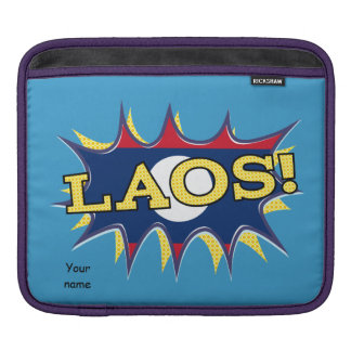 The flag of Laos Sleeves For iPads