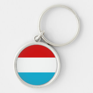The Flag of Luxembourg Keychain