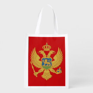 The Flag of Montenegro Grocery Bag