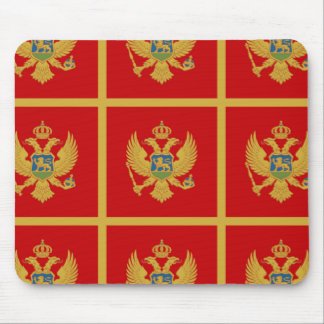 The Flag of Montenegro Mouse Pad