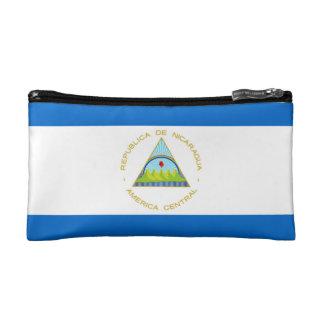 The Flag of Nicaragua - Latin America Cosmetic Bag