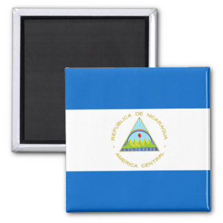 The Flag of Nicaragua - Latin America Magnet