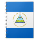 The Flag of Nicaragua - Latin America Notebook