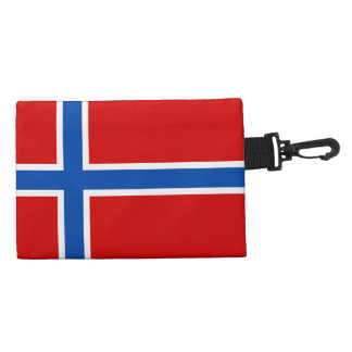 The Flag of Norway Accessories Bag