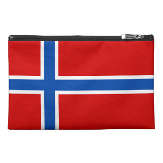 The Flag of Norway Travel Accessories Bag