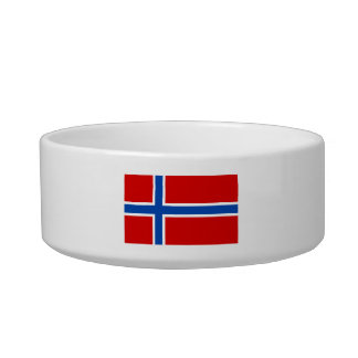 The Flag of Norway Bowl