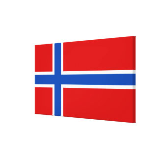 The Flag of Norway Canvas Print