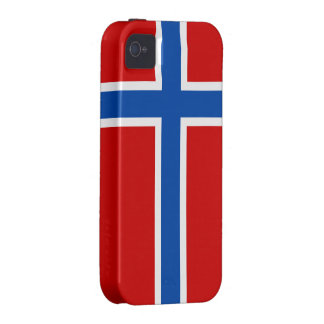 The Flag of Norway Vibe iPhone 4 Case