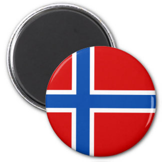 The Flag of Norway Magnet