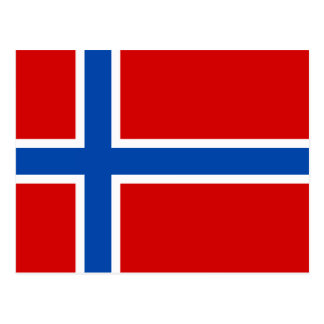 The Flag of Norway Postcard