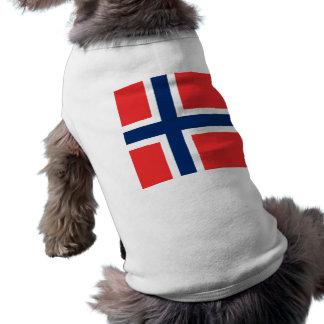 The Flag of Norway - Scandinavia Pet T-shirt