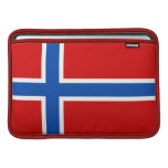 The Flag of Norway Sleeves For MacBook Air