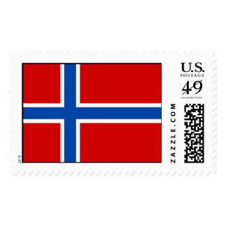 The Flag of Norway Stamp