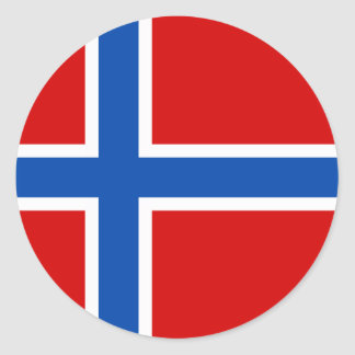 The Flag of Norway Stickers