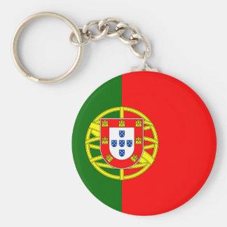 The Flag of Portugal (Bandeira de Portugal) Keychain