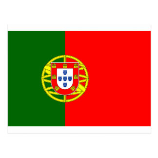 The Flag of Portugal (Bandeira de Portugal) Postcard