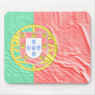 The flag of Portugal in Mousepad