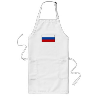 The Flag of Russia Aprons