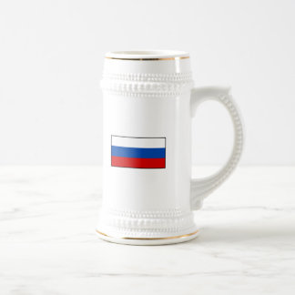 The Flag of Russia Beer Stein