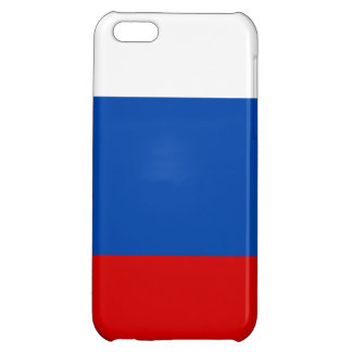 The flag of Russia Cover For iPhone 5C