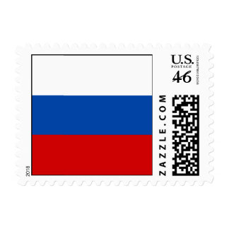 The Flag of Russia Postage Stamps