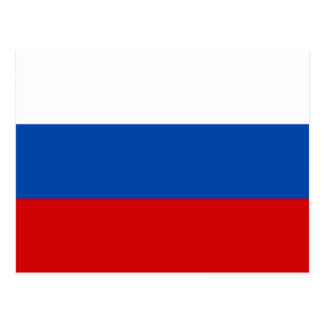 The Flag of Russia Postcard