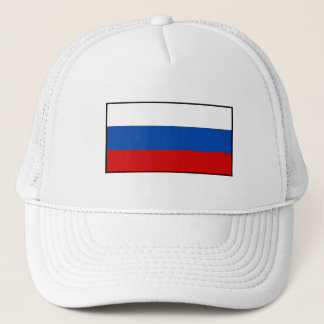 The Flag of Russia Trucker Hat
