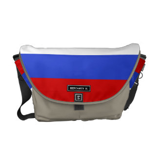The Flag of Russian Courier Bag