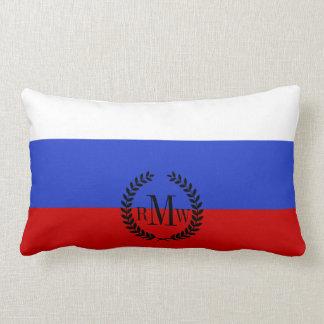 The Flag of Russian Lumbar Pillow