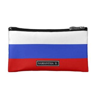 The Flag of Russian Makeup Bag