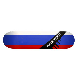 The Flag of Russian Skateboard