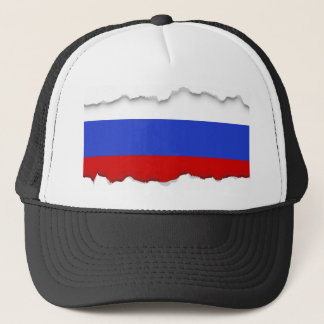The Flag of Russian Trucker Hat