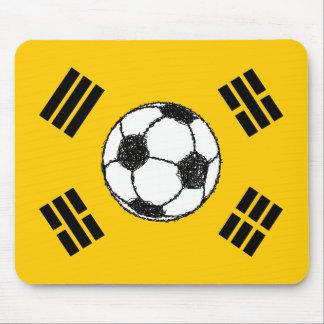 The Flag of South Korea | Football Sketch Mouse Pad