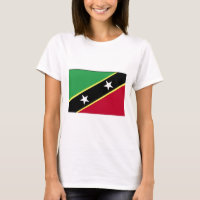 The Flag of St Kitts & Nevis T-Shirt