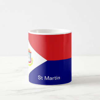 The Flag of St Martin Coffee Mug