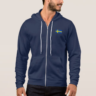 The Flag of Sweden Hoodie