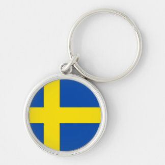 The Flag of Sweden Keychain