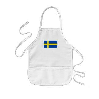 The Flag of Sweden Kids' Apron