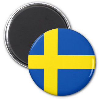 The Flag of Sweden Magnet